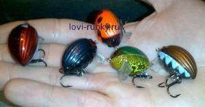Новинка в приманках Воблер Lil'Bug Salmo