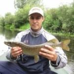 Небольшой отчет о городской рыбалке на щуку