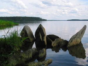 Отдых на Волчихинском море