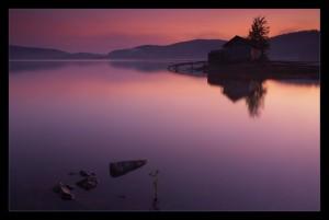 Остров на Волчихинском водохранилище
