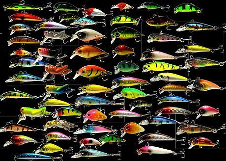 Воблеры - разнообразие раскрасок