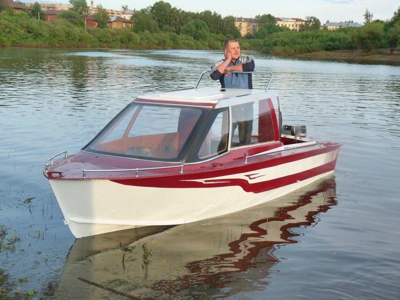тюнинг лодки прогресс 4 с рубкой